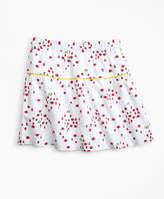 Brooks Brothers Cotton Bug Print Skirt