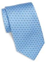 Saks Fifth Avenue Medallion Link Silk Tie