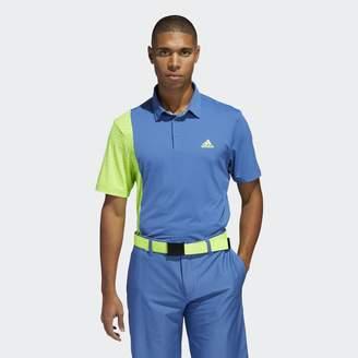 adidas Ultimate365 Blocked Print Polo Shirt