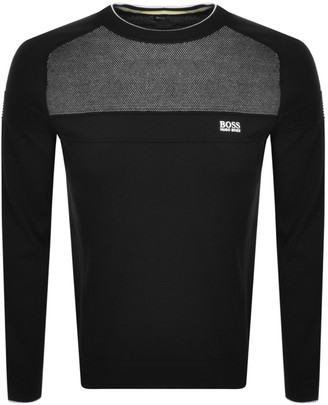 Boss Athleisure BOSS Ramoy Knitted Jumper Black