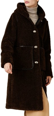 Jane Post Long Hooded Storm Coat