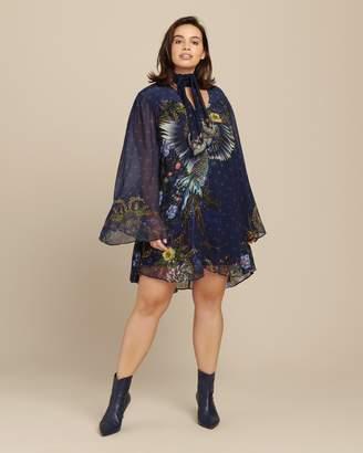 Camilla Short Dress with Yoke