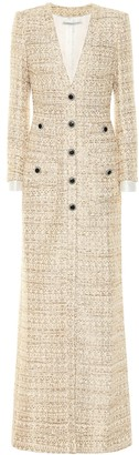 Alessandra Rich Sequined tweed dress