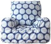 Lelbys Freckles Kids Bean Chair Cover, Navy and White