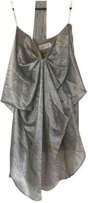 Zimmermann Silver Dress for Women