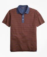 Brooks Brothers Stripe Polo Shirt