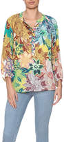 Jade Floral Sheer Blouse