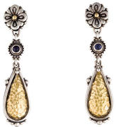 Konstantino Bi-Color Iolite Drop Earrings