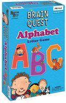 University Games Brain Quest Alphabet Letter Game by