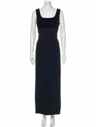 Givenchy Vintage Long Dress Black