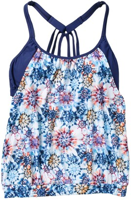 Next Rising Sun Double Up Floral Tankini