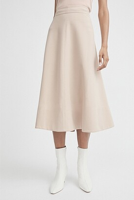 Witchery Fluted Ponte Skirt