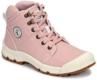Aigle TENERE LIGHT women's Shoes (High-top Trainers) in Pink