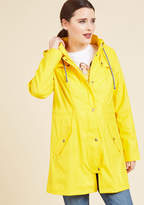 ModCloth At All Showers Raincoat in M - Anorak Jacket