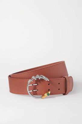 Chloé Roy Leather Waist Belt - Brown