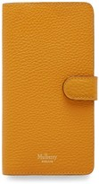 Thumbnail for your product : Mulberry iPhone Flip Case Deep Amber Small Classic Grain
