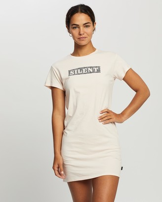 Silent Theory Women's Mini Dresses - Silenced Tee Dress - Size One Size, 8 at The Iconic