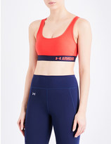 Under Armour Armour crossback mid stretch-jersey sports bra