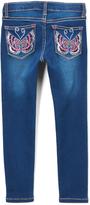Vigoss Blue Dainty Butterfly Jeans - Girls