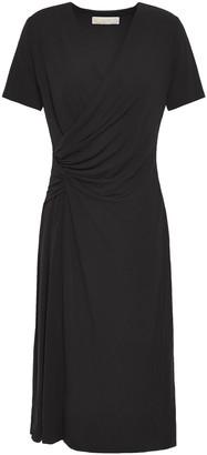 MICHAEL Michael Kors Wrap-effect Jersey Dress