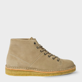 Paul Smith Men's Taupe Suede 'Errol' Wedge-Sole Boots