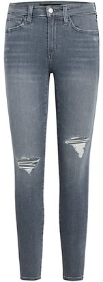 Joe's Jeans The Icon Mid-Rise Distressed Ankle Jeans