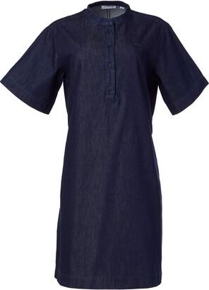 Lacoste Women's Short Sleeve Denim Dress