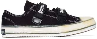 Palm Angels vulcanized touch-strap sneakers black