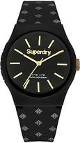 Superdry Unisex Urban Micro Silicone Strap Watch