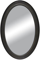 Asstd National Brand Oval Distressed with Beaded Inlay Wall Mirror