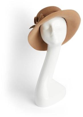 Siggi Feather-Brim Hat