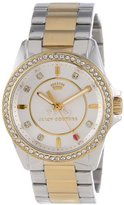 "Juicy Couture Women's 1901078 ""Stella Mini"" Two-Tone Bracelet Watch"