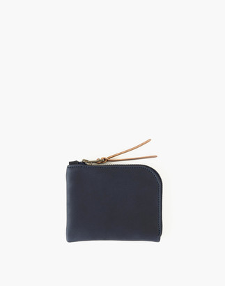 Madewell MAKR Leather Zip Luxe Wallet