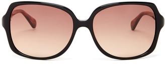 Diane von Furstenberg 58mm Oversized Sunglasses