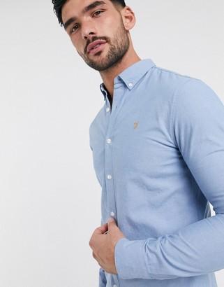 Farah pasadena chambray long-sleeve shirt