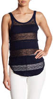 Chaser Lace Scoop Back Tank