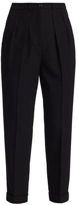 Michael Kors Virgin Wool Tapered Trousers