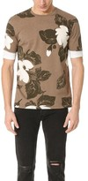 3.1 Phillip Lim Double Sleeve Night Floral Tee