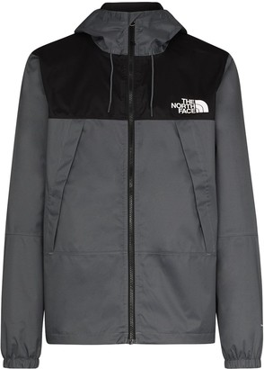 The North Face Two-Tone Zip-Up Hooded Jacket