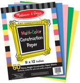 """Melissa & Doug Multi-Color Construction Paper (9""""x12"""")"""