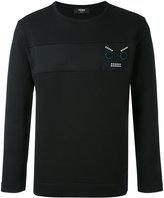 Fendi Faces sweatshirt - men - Cotton/Polyester - 44