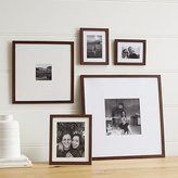 Crate & Barrel 5-Piece Matte Brown Picture Frame Set