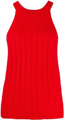 Jejia knitted ribbed top