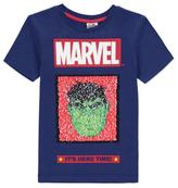 George Marvel Avengers Swipe Sequin T-Shirt