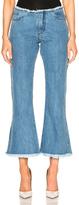 Marques Almeida Marques ' Almeida Capri Flare Jeans