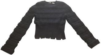 Alaia Black Wool Knitwear for Women Vintage