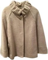 Carolina Herrera Grey Wool Coat for Women