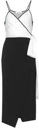 Diane von Furstenberg Avila crApe wrap dress