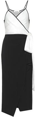 Diane von Furstenberg Avila crepe wrap dress
