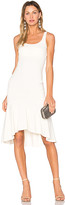 Amanda Uprichard Parker Dress in Beige. - size L (also in M,S,XS)